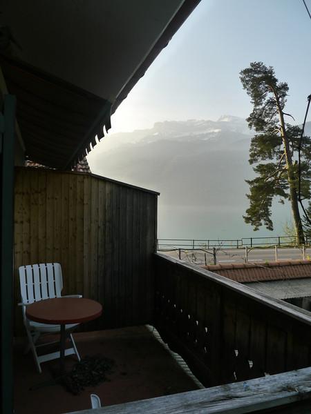 Balkon Mini-Appartement mit teilweiser Seesicht