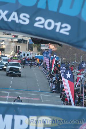 Men at 18.2 Mile Mark - 2012 US Olympic Trials Marathon