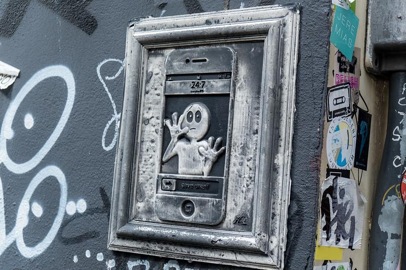 Amsterdam Street Art on Sint Olofssteeg