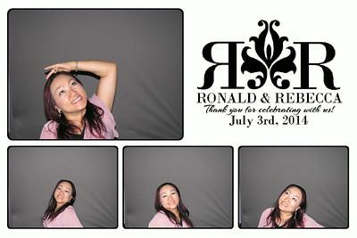 Ronald & Rebecca 7-3