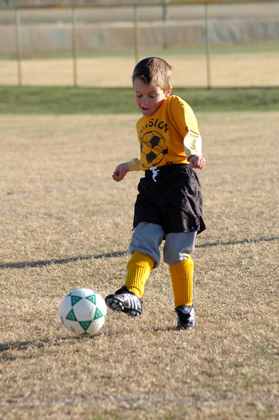 Tiger Soccer League Play Nov. 2007