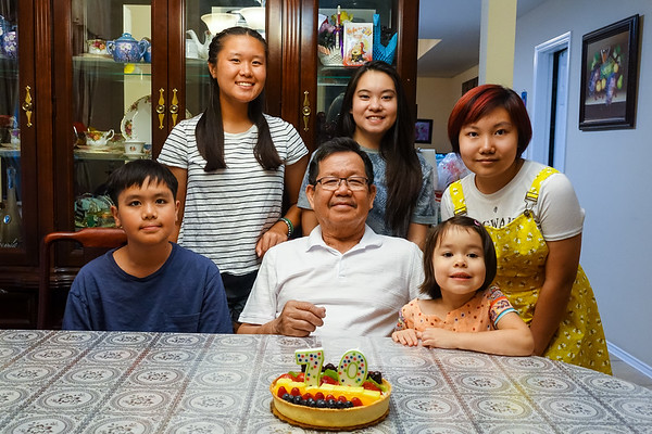 Hoa Vo 70th and Amy 15th Birthday