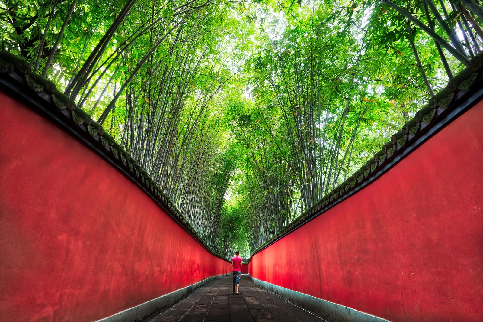 Walking in Chengdu