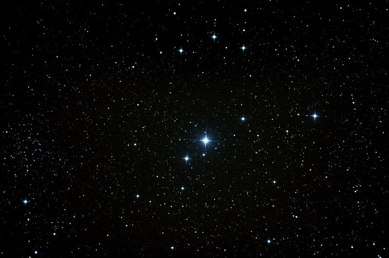 Caldwell 102 - IC2602 - Southern Pleiades or Theta Carina Cluster - 7/4/2013 (Processed stack)