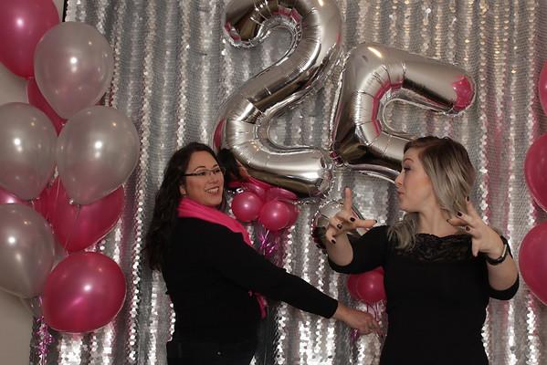 Megan's 25th