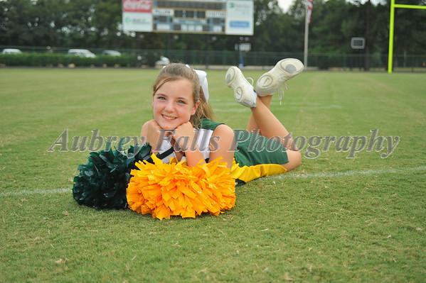 2014 Pee Wee Cheerleaders