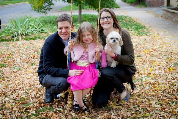 Lilah, Jenn & David