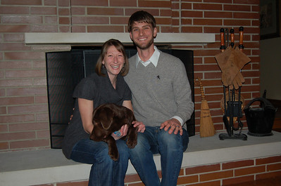 2009, November Laura, Corey and Maebe