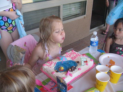 Tori's 7th Birthday