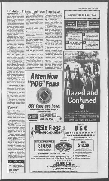 Daily Trojan, Vol. 121, No. 18, September 24, 1993