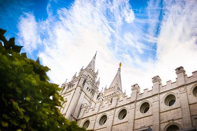 Salt Lake City, Ut Temple