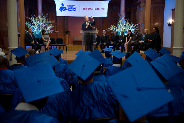 The Doe Fund Graduation 2012