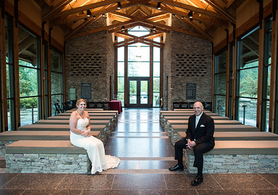vow renewal at Marine Corps museum chapel
