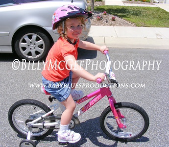 First Bike Ride - 20 Jul 2008