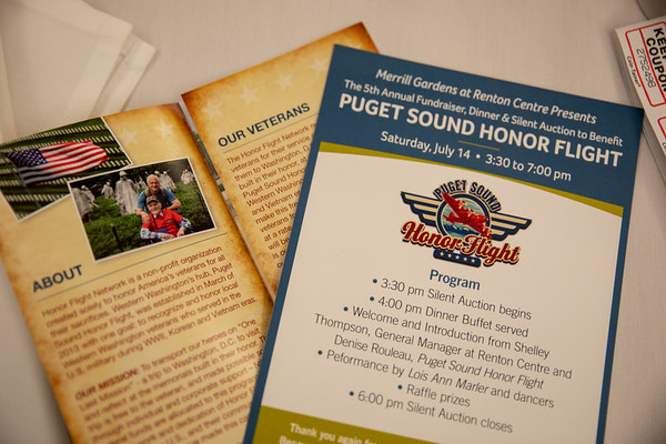 2018 Puget Sound Honor Flight Fundraiser at Merrill Gardens