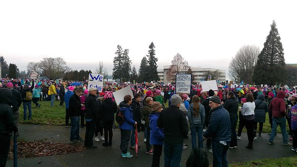 2017: January 21 Women's March on Olympia