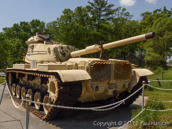 VFW Post 7729 - Muskegon, MI - M60A0 & 40mm Twin Bofors