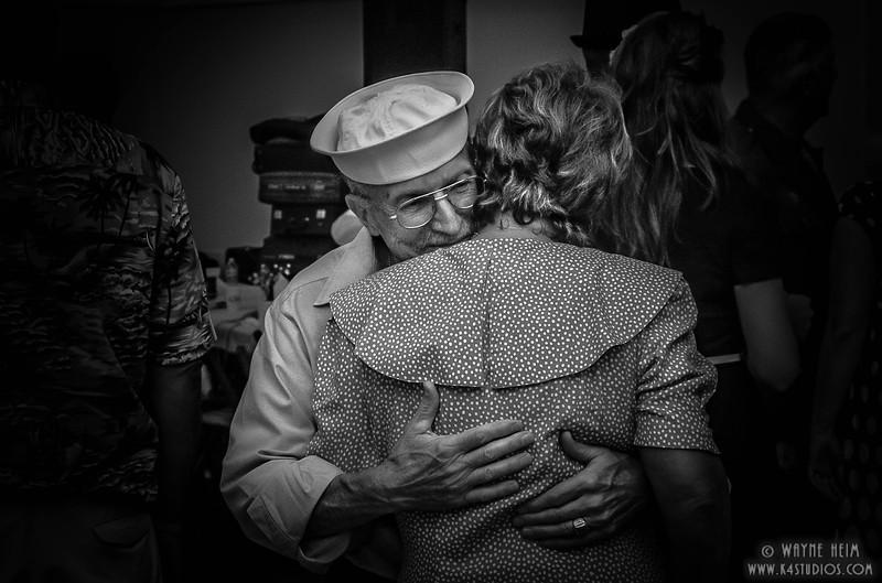Warm Greeting       Black & White Photography by Wayne Heim