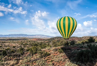 Updated Sedona Balloon Ride