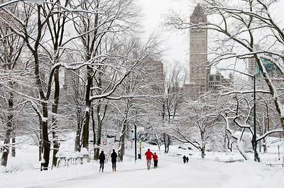 NYC Snow Scenes 2013