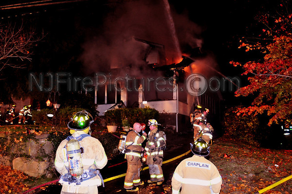West Caldwell, NJ 3rd Alarm 139 Mountain Ave. November 1, 2009