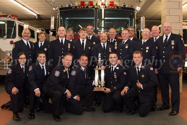Glen Cove Fire Department Inspection 2014