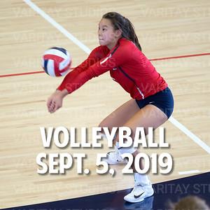 Prairie Volleyball, Sept. 5, 2019
