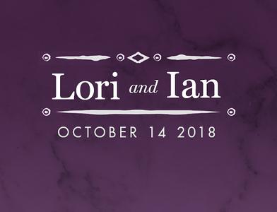 Lori & Ian 2018