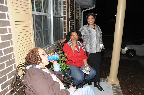 Rashida's Thanksgiving Family