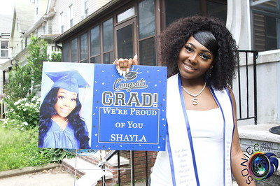 JUNE 20TH, 2020: SHAYLA'S GRADUATION PARTY