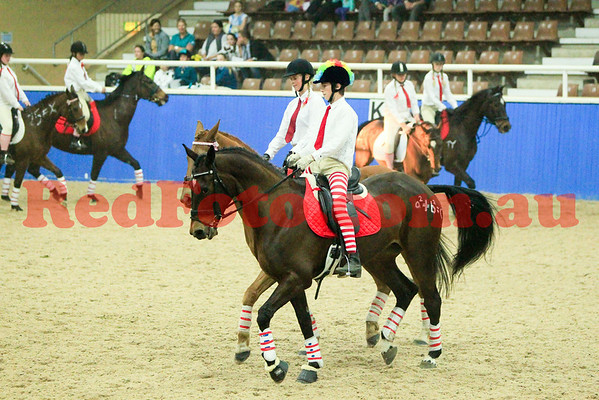 2014 08 23 PCAWA State Dressage Champs Musical Ride 10 Baldivis School Bullying