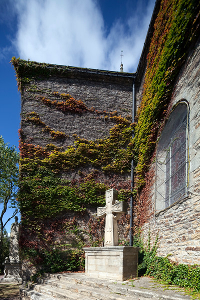 Saint Pierre church, town of Baden, departament of Morbihan, Brittany, France