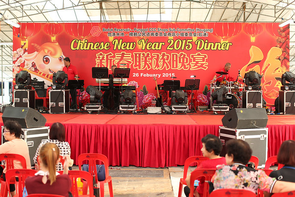Chinese New Year Dinner 2015