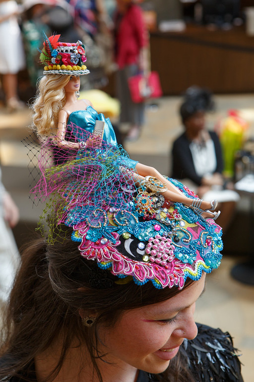 . Stephinity Salazar.  Women with Hattitude luncheon, benefiting the Women\'s Voices Fund, created by the Denver Center Theatre Company, at the Denver Center for Performing Arts, Seawell Ballroom, in Denver, Colorado, on Thursday, May 5, 2016. Photo Steve Peterson