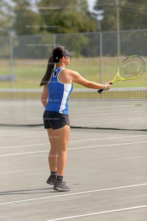 East Bladen vs West Bladen 17 girls tennis