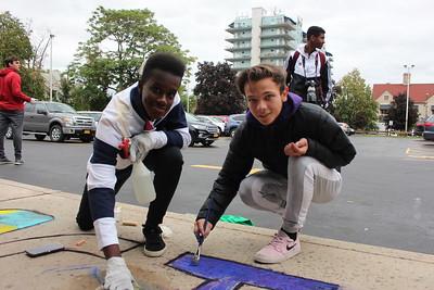 Sidewalk Chalk Art Contest 10/4/19
