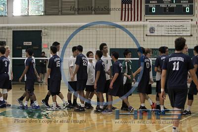 Mid Pacific Boys Volleyball - KS 3-25-14