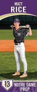 Matthew, SR Yr Baseball
