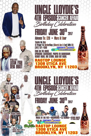 "UNCLE LLOYDIE's ""4TH ANNUAL CANCER AFFAIR""(20)"
