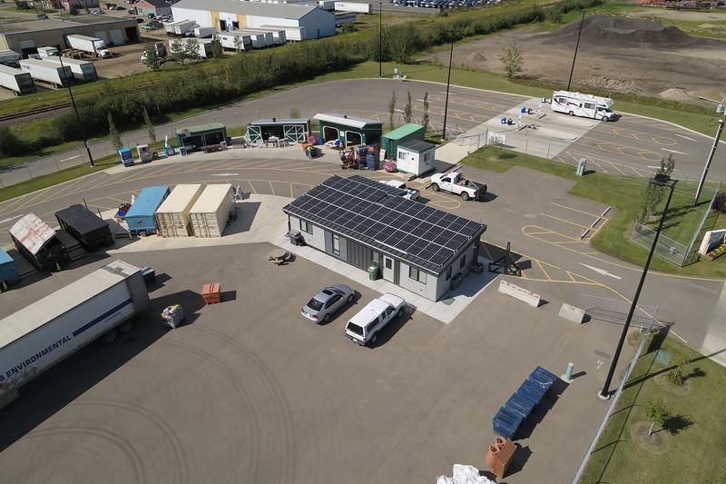 Leduc Eco Station Aerial Photos
