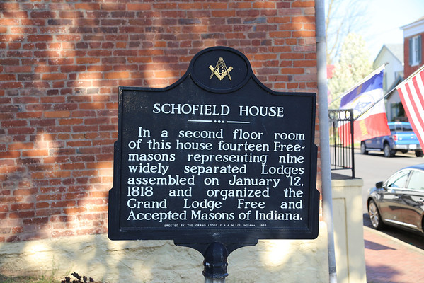 Grand Masters' Schofield House  Visit 04-19-2014