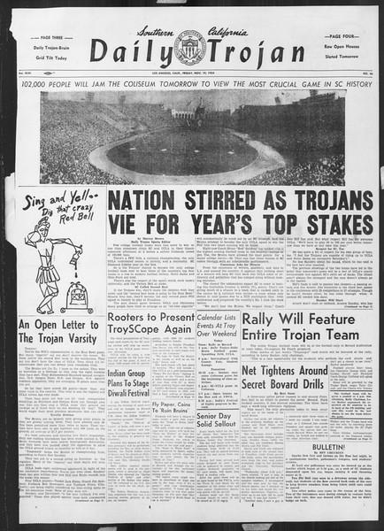 Daily Trojan, Vol. 46, No. 46, November 19, 1954