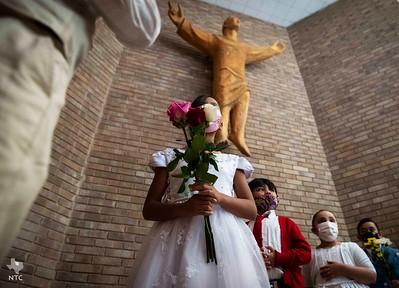 May crowning at St. Rita Catholic School
