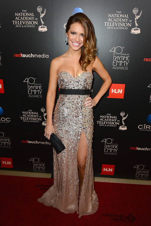 . Actress Chrishell Stause attends The 40th Annual Daytime Emmy Awards at The Beverly Hilton Hotel on June 16, 2013 in Beverly Hills, California.  (Photo by Mark Davis/Getty Images)