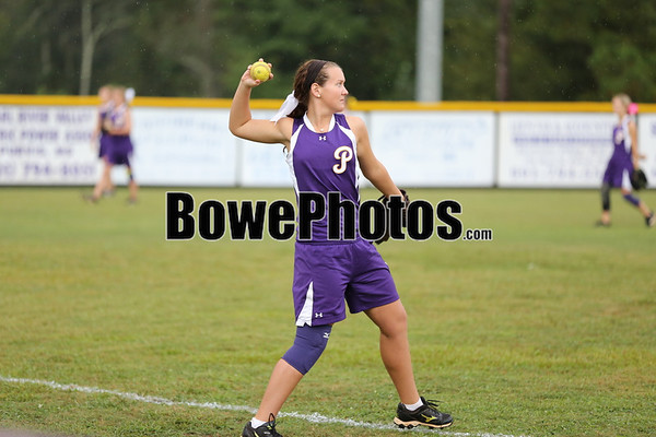 Purvis vs Poplarville - 2013 varsity SP softball