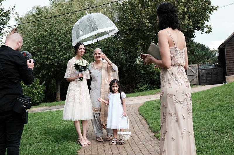 Kiret & Sam Civil Wedding, at Three Lakes, Westmill, UK