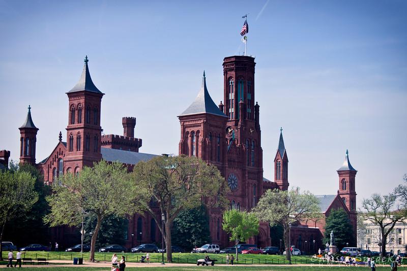 Smithsonian Castle - Soft Landscape