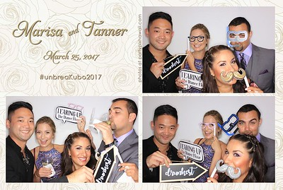 Tanner & Marisa's Wedding (Luxury Photo Pod)