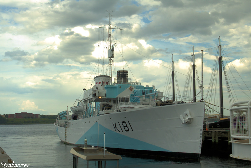 HMCS Sackville -- The only surviving Flower-class Corvette