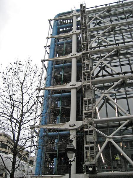 Pompidou Center Views